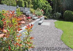 Wege und Flächen im Garten gestalten