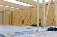 Holzriegelbau