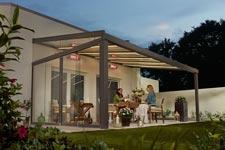 Glasdächer für den Außenbereich