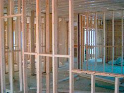 Hausbau mit Holzständerwerk