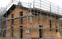 Hausbau mit Mauerwerk